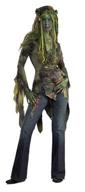 Swamp Queen Costume