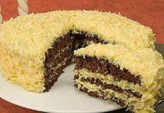 Receita deliciosa e fácil de Bolo de chocolate com coco, aprenda como fazer essa delicia.