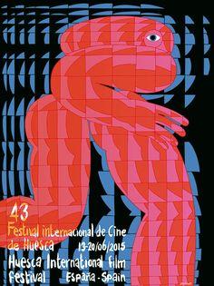 Eline Van Dam - 43 Huesca International Film Festival poster