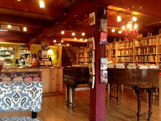 Dudley's Bookshop Cafe (Downtown, Bend, OR)