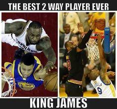 LeBron James ...