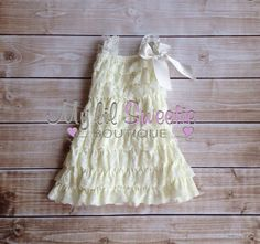 Ivory dress, newborn dress, Lace dress, baby girl outfit, infant outfit, special occasion dress, toddler dress, girls dress, by MyLilSweetieBoutique on Etsy https://www.etsy.com/au/listing/235376258/ivory-dress-newborn-dress-lace-dress