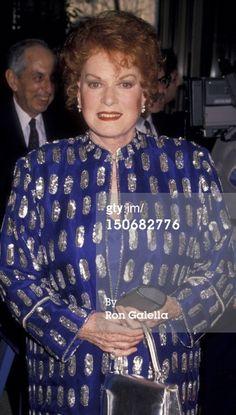 Actress Maureen O'Hara attends Film Society Of Lincoln Center Gala... News Photo 150682776