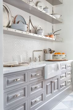 Pretty prep kitchen