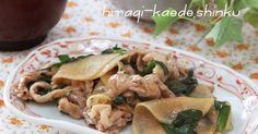 シャキシャキ大根と豚肉の炒め物