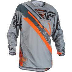 Fly - Evolution 2.0 Jersey - Grey/Orange/Black
