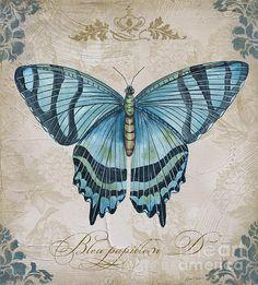 I uploaded new artwork to plout-gallery.artistwebsites.com! - 'Bleu Papillon-d' - http://plout-gallery.artistwebsites.com/featured/bleu-papillon-d-jean-plout.html