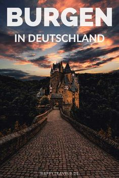 Die 10 schönsten Burgen Deutschlands The 10 most beautiful castles in Germany! If you want to discover beautiful German castles, you should not miss these 10 castles! Honeymoon Destinations, Holiday Destinations, Travel Around The World, Around The Worlds, Best Rooftop Bars, Germany Castles, Reisen In Europa, Beautiful Castles, Adventure Is Out There