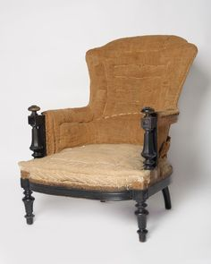 Antique French Napoleon III chair - Decorative Collective Antiques Online, Selling Antiques, French Chateau, House Numbers, French Antiques, Sofas, Accent Chairs, Home And Family
