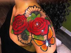 tattoos - The color is amazing! Hand Tattoos, Dope Tattoos, Dream Tattoos, Badass Tattoos, Pretty Tattoos, Beautiful Tattoos, Body Art Tattoos, Sleeve Tattoos, Amazing Tattoos