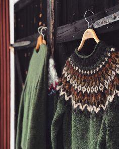 Google Satellite, Icelandic Sweaters, Fair Isles, Knit Crochet, Wool, Knitting Ideas, Crocheting, Clothes, Winter