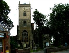 My great-great-grandparents married in this church, St. Clement, in Outwell England in 1847.