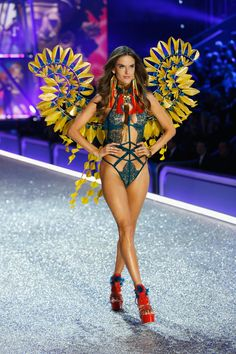 The 25 Craziest Looks From the Victoria's Secret Fashion Show via @WhoWhatWear