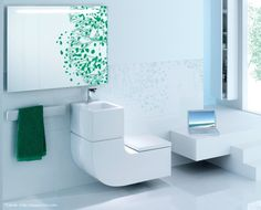 Eco Friendly And Space Saving Toilet Sink Combospace Combined Design