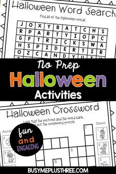 Are you looking for games or activities to do in your classroom for Halloween? These are fun and easy math and reading activities that will engage the students! Halloween Word Search, Halloween Bingo, Halloween Coloring, Halloween Themes, Halloween Cupcakes, Halloween 2020, Fun Classroom Activities, Fun Activities To Do, Halloween Activities