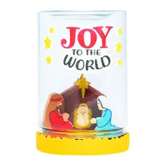 If you're looking for inspirational Christmas crafts for kids, this Nativity Jar Terrarium Craft Kit is the perfect fit. Great for Sunday School arts . Art School, Sunday School, Hobby Supplies, Nativity Crafts, Christmas Crafts For Kids, Christmas Ideas, Joy To The World, All Craft, Oriental Trading