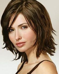 Awesome Bobs Middle Length Hairstyles And My Hair On Pinterest Short Hairstyles Gunalazisus