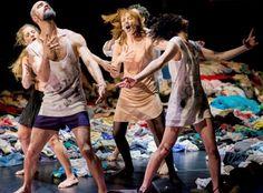 Tauberbach - Les Ballets C de la B - Alain Platel  MC2 grenoble avril 14'