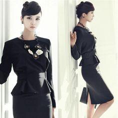 Office dress for women. 2pcs /set