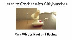 how to make a yarn ball winder - YouTube