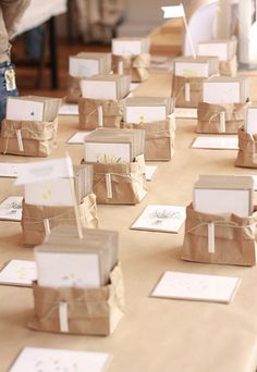 Great way to package a set of cards or other multiples.  Good for a craft show display.