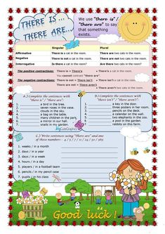 There is...There are... worksheet - Free ESL printable worksheets made by teachers