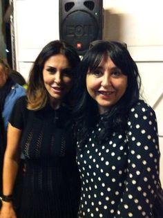 Con Sabrina Ferilli splendida e simpatica