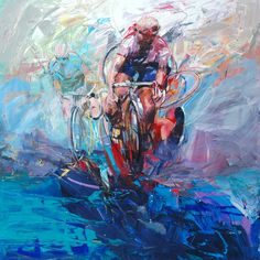 ITALIAN CYCLING JOURNAL: Cycling Art by Antonio Tamburro, Part II