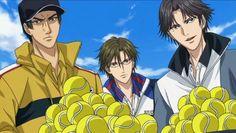 Sanada, Tezuka and Atobe (Prince of Tennis)