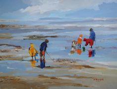 img-3989.JPG - Painting,  81x100 cm ©2012 par Ewa Rzeznik -  Peinture