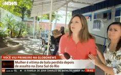 R12Noticias do Brasil e do Mundo : Uma bala perdida interrompeu a gravação de uma rep...