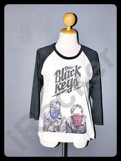 The Black Keys Shirt 3/4 Sleeve Raglan Baseball Jersey by iRocker, $15.99