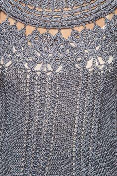 Netuno Mithos Crochet Dress - Vanessa Montoro USA - vanessamontorolojausa