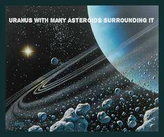 Asteroids around Uranus