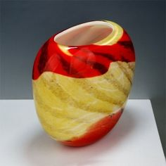 Blown Glass Vases-B1246-1