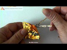 7 manieren om een gesmolten glas hanger maken - YouTube