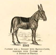 what-i-found: Delineator Magazine - 1888 Pattern for a Donkey