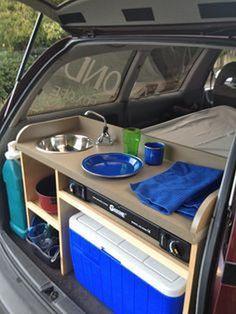 Kolay DIY Minivan Kamp Dönüştürme Pinterest On (26)