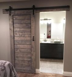 """348 Likes, 22 Comments - Timber + Gray Design Co. (@timberandgray) on Instagram: """"My clients have the most beautiful homes here's a shot of a barn door install from last week /…"""""""