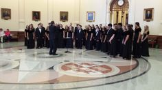 Round Rock High School Choir. December 3, 2013.