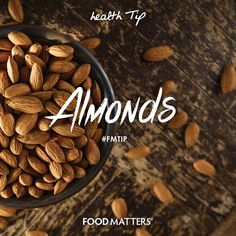 Almonds are a strong anti-inflammatory, a good source of healthy fats, fiber and protein!  Almonds aren't a complete protein since they don't have a full range of amino acids but still make a great source of plant-based protein. To make them easier to digest, try soaking them overnight. What's your favorite way to use almonds?