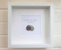 Pebble pictures Pebble Art wedding gift anniversary gift engagement gift home decor handmade birthday gift christmas gift