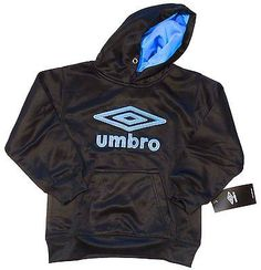 Umbro Sports Pullover Hoodie Sweatshirt Youth Size 5/6 @Crowdz