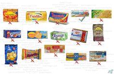 Comparativa de galletitas de agua según sus ingredientes, cuales son veganas? más en boletinvegano.com