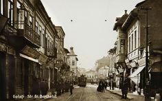 003.Galatiul vechi- str. General Berthelot- azi Nicolae Balcescu Romania