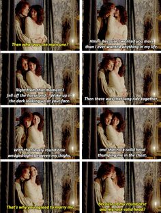 """I wanted ye from the first moment I saw ye"" [GFSET] 1x12 Lallybroch"