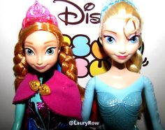 Anna que j'ai eu le 30/04/14 et ELSA que j'ai le 24/12/15 par MAMAN. ♥ @LauryRow  https://www.facebook.com/pages/Disneycollecbell/603653689716325
