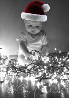 Christmas Baby photo  @Lynne {Papermash} {Papermash} {Papermash} French  I LOVE THIS!
