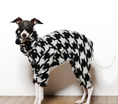 Italian Greyhound Warm Fleece Snoodie Suitmany by SpoiledBratzwear, $32.00…