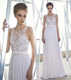 Piękna koronkowa suknia ślubna!